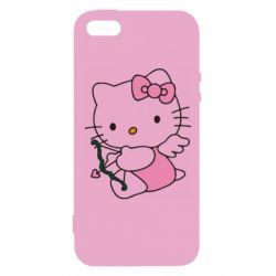 Чохол для iPhone SE Kitty амурчик