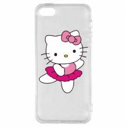 Чехол для iPhone SE Kitty балярина