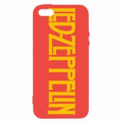 Чехол для iPhone SE Led Zeppelin
