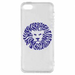 Чохол для iPhone SE лев
