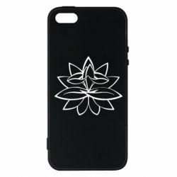 Чохол для iPhone SE Lotus yoga