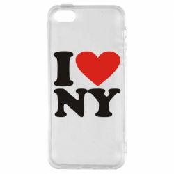 Чохол для iPhone SE Люблю Нью Йорк