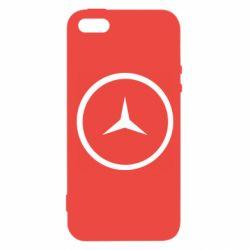 Чохол для iPhone SE Mercedes new logo