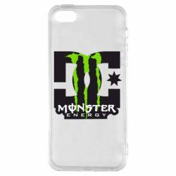 Чехол для iPhone SE Monster Energy DC