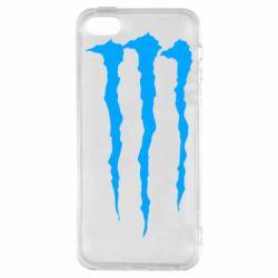 Чохол для iPhone SE Monster Energy Stripes 2