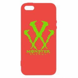 Чохол для iPhone SE Monster Energy W