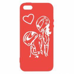 Чехол для iPhone SE MOTO LOVE
