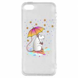 Чохол для iPhone SE Mouse and rain