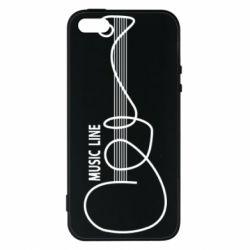 Чохол для iPhone SE MUSIC LINE