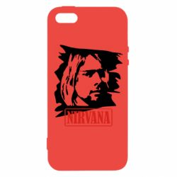 Чехол для iPhone SE Nirvana Kurt Cobian