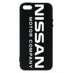 Чехол для iPhone SE Nissan Motor Company