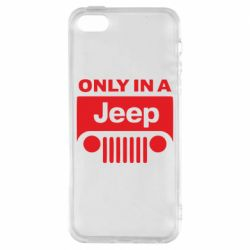 Чехол для iPhone SE Only in a Jeep
