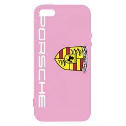 Чехол для iPhone SE Porsche