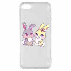 Чохол для iPhone SE Rabbits In Love