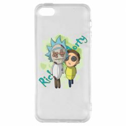 Чохол для iPhone SE Rick and Morty voodoo doll