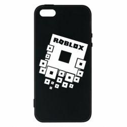 Чохол для iPhone SE Roblox logos