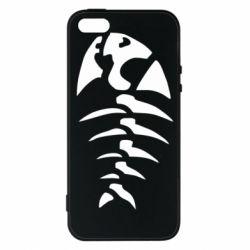 Чохол для iPhone SE скелет рибки