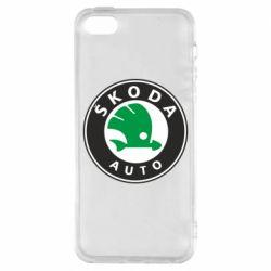 Чехол для iPhone SE Skoda Small