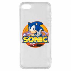 Чохол для iPhone SE Sonic lightning
