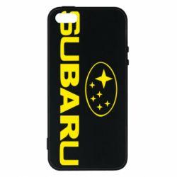 Чохол для iPhone SE Subaru