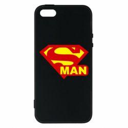 Чехол для iPhone SE Super Man