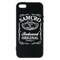 Чохол для iPhone SE Сини Анархії Samcro