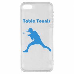 Чохол для iPhone SE Table Tennis Logo