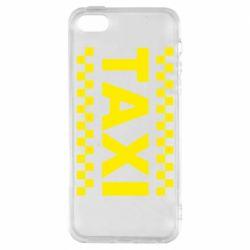 Чехол для iPhone SE TAXI