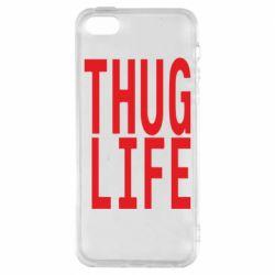 Чохол для iPhone SE thug life