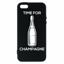 Чохол для iPhone SE Time for champagne
