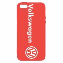 Чехол для iPhone SE Volkswagen Motors