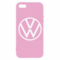 Чохол для iPhone SE Volkswagen new logo