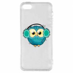 Чохол для iPhone SE Winter owl