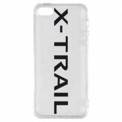 Чехол для iPhone SE X-Trail