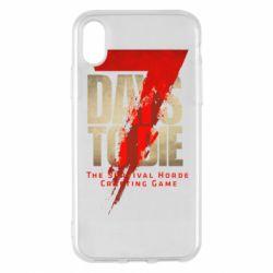 Чохол для iPhone X/Xs 7 Days To Die
