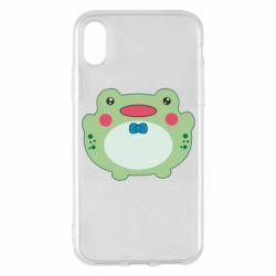 Чохол для iPhone X/Xs Baby frog