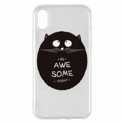 Чохол для iPhone X/Xs Be Awesome Today!