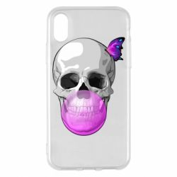 Чохол для iPhone X/Xs Butterfly on the skull