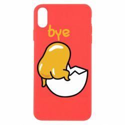 Чохол для iPhone X/Xs Bye