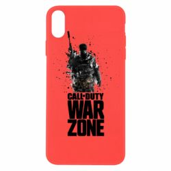 Чехол для iPhone X/Xs COD Warzone Splash