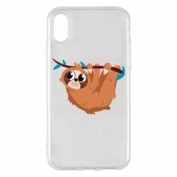 Чохол для iPhone X/Xs Cute sloth