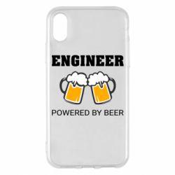 Чохол для iPhone X/Xs Engineer Powered By Beer