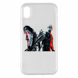 Чохол для iPhone X/Xs Falcon and Winter Soldier