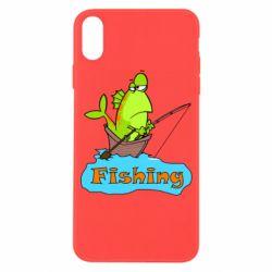 Чехол для iPhone X/Xs Fish Fishing