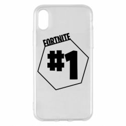 Чохол для iPhone X/Xs Fortnight number 1