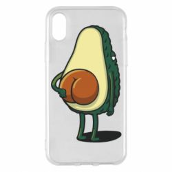 Чохол для iPhone X/Xs Funny avocado