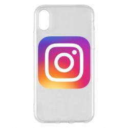 Чохол для iPhone X/Xs Instagram Logo Gradient