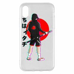 Чохол для iPhone X/Xs Itachi in modern clothes