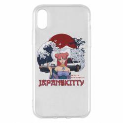 Чохол для iPhone X/Xs Japan Kitty