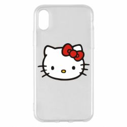 Чехол для iPhone X/Xs Kitty